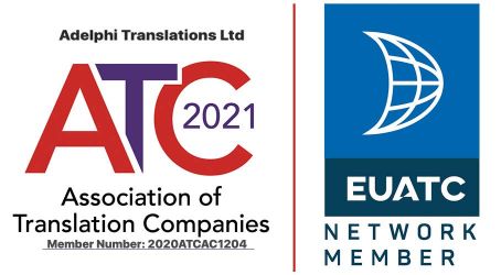 Adelphi Translations Association of Translation Companies accredited member