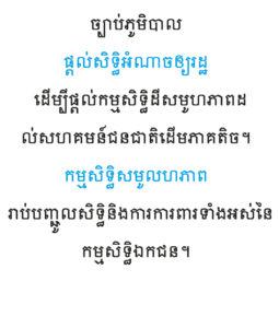 Cambodian alphabet