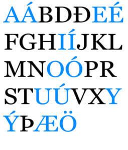 icelandic language