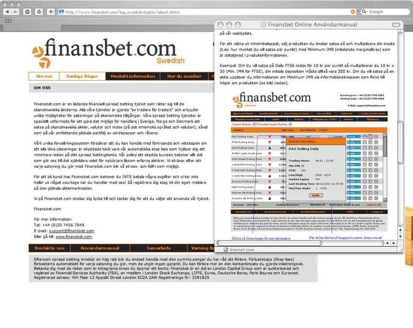 Finnish website